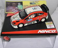 NINCO 50469 SLOT CAR FORD FOCUS WRC OPEN CATALUNYA 2008 LLUM LLAMP DRIVERS
