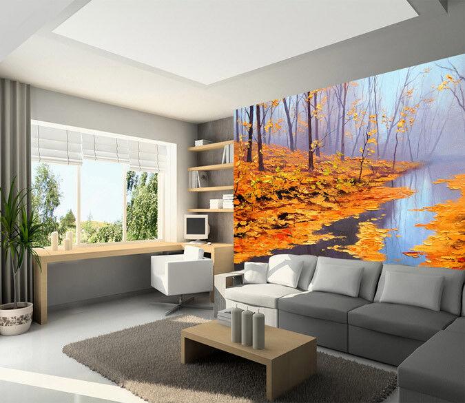 3D Gelber Fluss Baum 73 Tapete Tapete Tapete Wandgemälde Tapete Tapeten Bild Familie DE Summer | Eine Große Vielfalt An Modelle 2019 Neue  | Economy  |  11447f