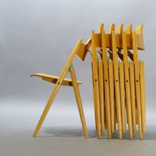 1/30 Wilde Spieth Stuhl SE 18 Egon Eiermann Klappstuhl folding chair Vintage
