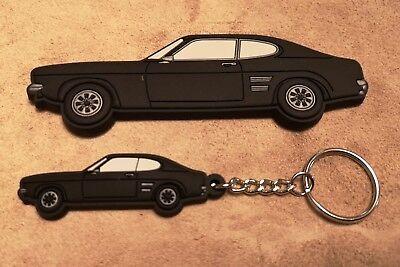 Handmade Laser Cut Gift Ford Orion Mk1 /& Mk2 Keyring