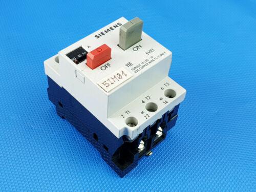 Siemens Motorschutzschalter 3VE1 0,4-0,63 A    Inkl MwSt