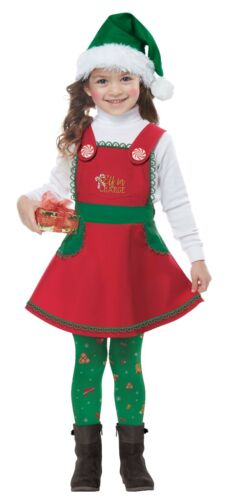 Toddler Elf In Charge Christmas Costume
