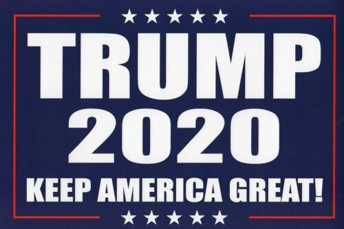 Donald Trump 2020 Presidential Campaign Rally Poster Sign Set
