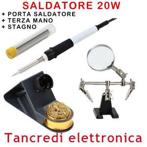 SALDATORE-A-STILO-20W-STAGNO-PORTA-SALDATORE-TERZA-MANO-SALDATURE-PRECISIONE