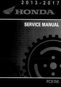 honda pcx150 pcx 150 scooter 2013 2014 2015 2016 2017 service manual rh ebay com service manual honda pcx pdf Parts Manual GVC190 Honda