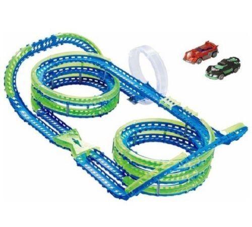 Wave Racers Super Helix Speedway Revoluntionary Wave Technology Kids Play Set