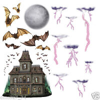 Halloween Party Prop Wall Decoration Haunted House And Night Sky Add On Props