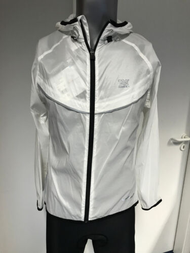 TAO W/'s Translumen Jacket Zentourion white Size 40 Laufjacke Regenjacke NEU