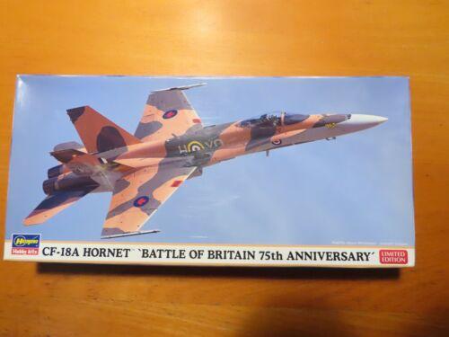 02181 Hasegawa 1//72 CF-18A HORNET `BATTLE OF BRITAIN 75th ANNIVERSARY/'