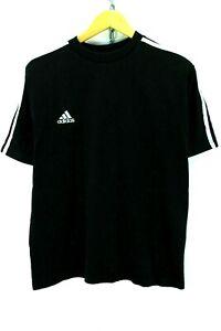 Adidas-Men-039-s-Basic-T-Shirt-in-Black-Size-L-Short-Sleeve-Cotton-Tee-EF2593