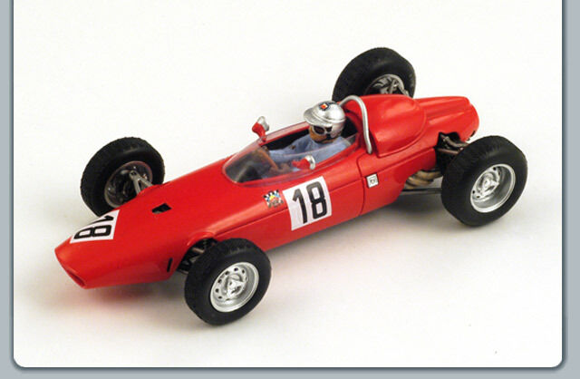 Spark S1153 - BRM P57 n°18 GP Allemagne 1964 Giancarlo Baghetti 1 43