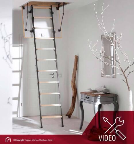 Bodentreppe Intercon Mini Bodentreppen für kleinste Deckenöffnungen