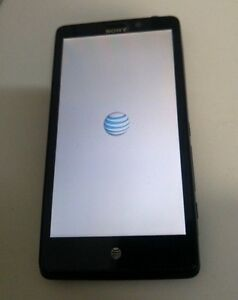 Sony Xperia T (LT30at) 16GB - (AT&T) Black - BAD IMEI - MISSING