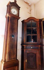 Musee-Pendule-Chene-2-4-M-Bronze-en-Laiton-Figurines-Ange-Anges-Antique-Baroque