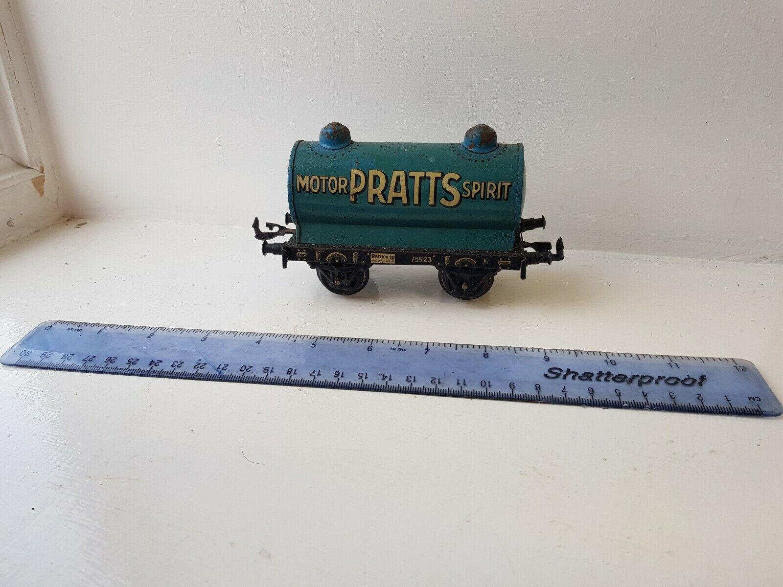 Bing 0 Gage Pratts Oil Tank Wagon obloxed