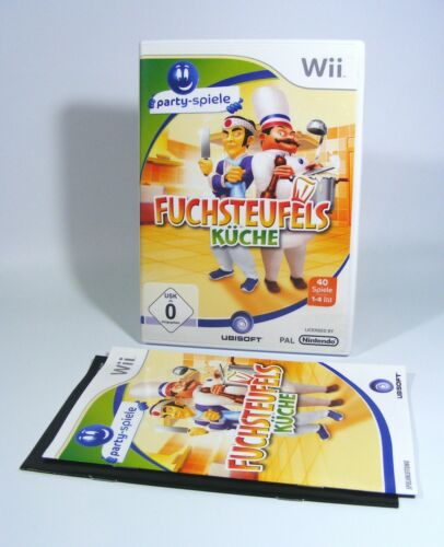1 von 1 - FUCHSTEUFELS KÜCHE für Nintendo Wii komplett mit OVP und Anleitung