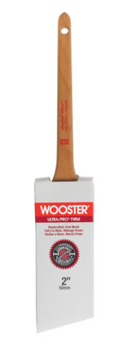 4181-2 Wooster Ultra Pro Firm  2 in W Angle  Nylon Polyester  Paint Brush