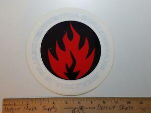 Black Label John Lucero OG Bars Skateboard Sticker 5.2in blue//yellow si