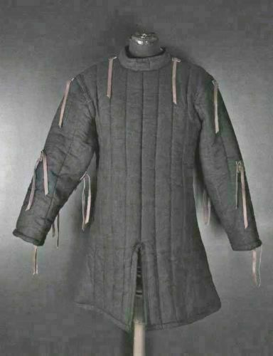 New Year GIFT Medieval Gambeson Medieval Padded collar full sleeves FOR FRIEND