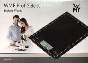 Wmf Profiselect Digitale Waage Kuchenwaage Glas Kunststoff Bis 5
