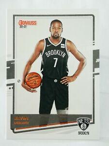 Panini Donruss 2020-21 N11 NBA trading card base #93 Brooklyn Nets Kevin Durant