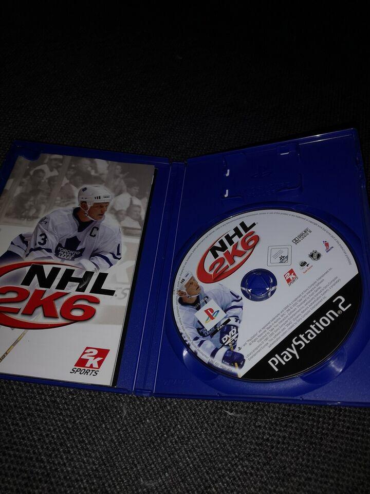NHL 2k6, PS2, sport