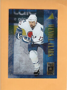 1995-96-PINNACLE-FIRST-STRIKE-8-WENDEL-CLARK-QUEBEC-NORDIQUES-FREE-SHIPPING