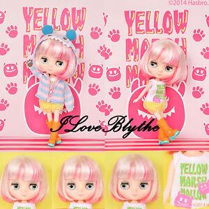 Takara-8-034-Middie-Blythe-Doll-Yellow-Marshmallow