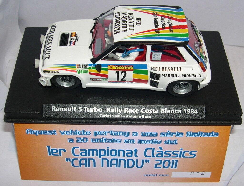 flygagag Renault 5 Turbo 1o Camp.Klassiker kan Rhea 2011 Edition Limit lila 65533;, e 20units MB