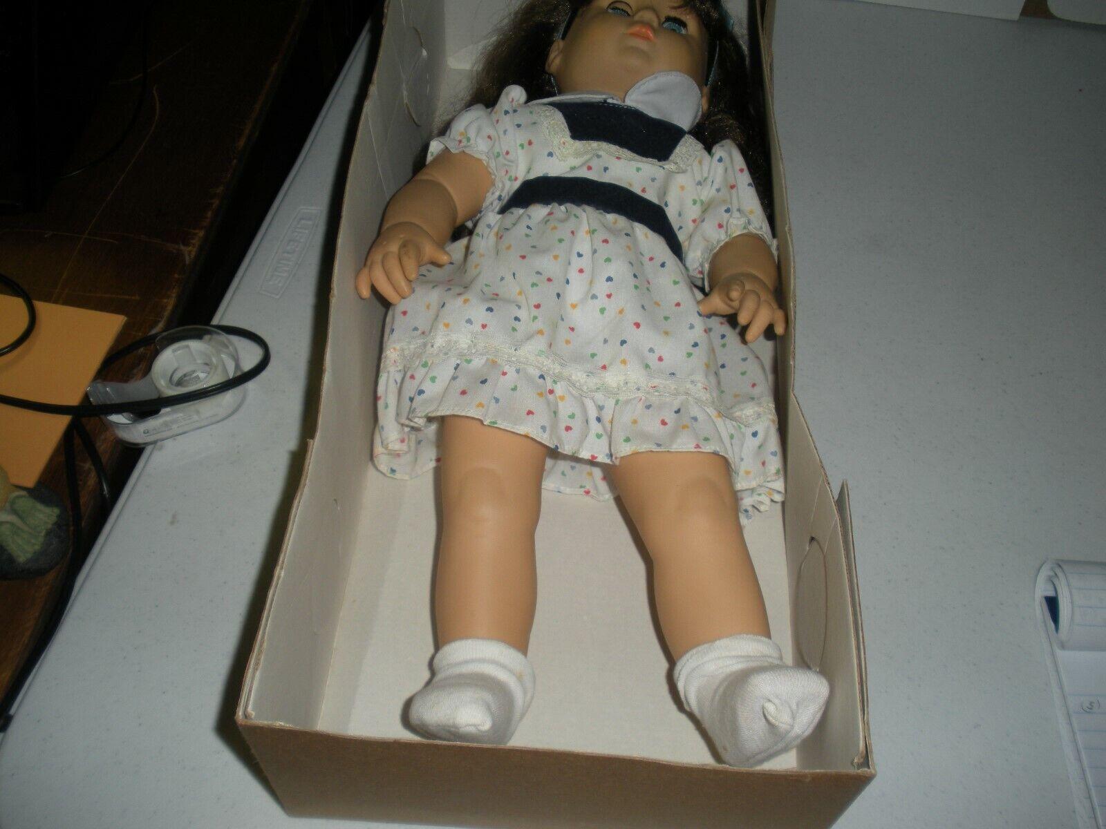 20  Felicia MUÑECA en caja original de vinilo de cabeza, brazos & Piernas ojos en movimiento cuerpo suave