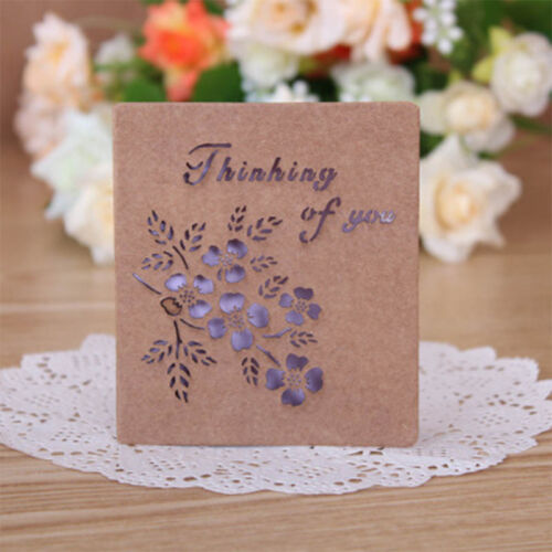 Greeting Cards W//Envelope Visual 3D Box Gift Cards Leave Message Paper Card