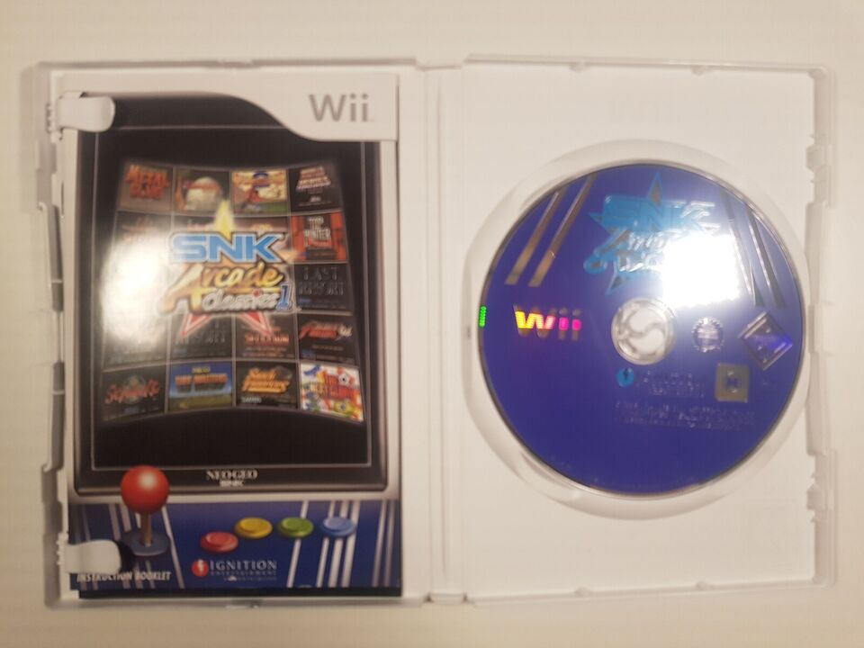 SNK Arcade Classics vol. 1, Nintendo Wii