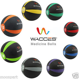 Wacces-Weighted-High-Quality-Fitness-Medicine-Ball-Muscle-Driver-2lb-to-25lb