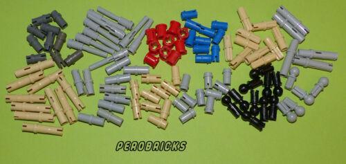 Lego Technic Technik 110 x diverse Pins Stopper