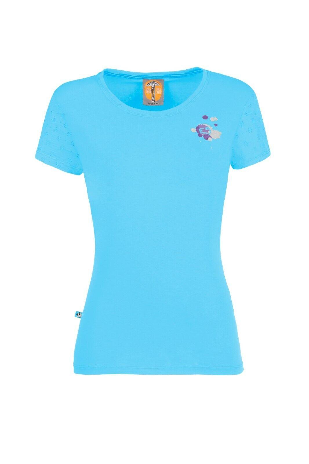 E9 Drops  elastisches T-Shirt für DaSie  cyan