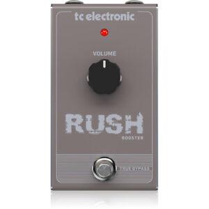 Tc Electronic Rush Clean Boost Booster Pédale D'effets Guitare Pédale Stompbox-afficher Le Titre D'origine 8yty0dpd-07184651-136430338