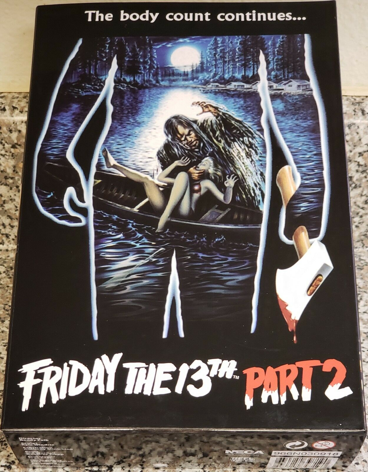 NECA FRIDAY THE 13TH PART 2, 7  ULTIMATE JASON FIGURE (BRAND NEW)