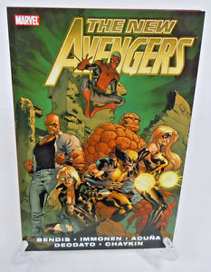 New-Avengers-Vol-2-by-Bendis-Marvel-Comics-TPB-Trade-Paperback-Brand-New