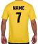 miniature 10 - Personalised Printed KIDS Football Style T-Shirt Boys Girls Tee Top