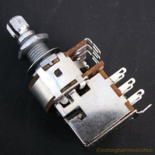 POTENTIOMETER+PULL SWITCH ELECTRIC GUITAR POT A250K NEW