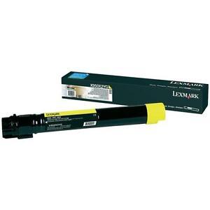 Original-Lexmark-Toner-X950X2YG-Yellow-X950-X952-X954-New-B
