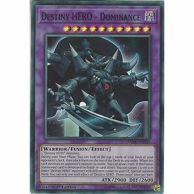 Dominance Dane-en031 Adaptable Destiny Hero Super Rare Card 1st Edition Yu-gi-oh Tcg Dependable Performance