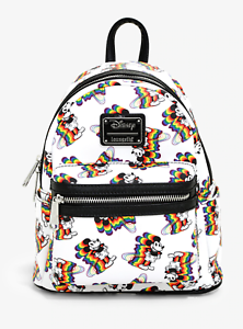 Disney-amp-Loungefly-Mickey-Mouse-Rainbow-Mini-Size-Backpack-FACTORY-SEALED