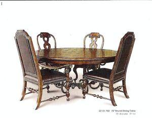 72 Round Dining Room Table