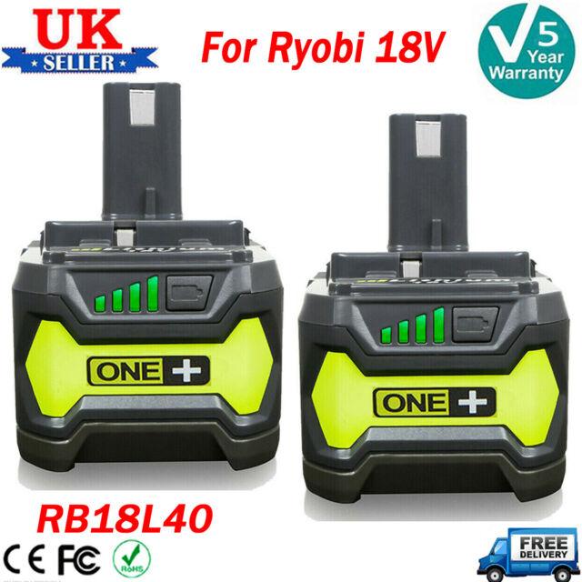 18 V Batterie 18 V 5.0Ah Li-Ion Genuine Ryobi RB18L50 ONE