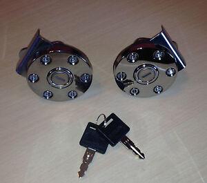 Dee Zee Tool Box >> 2 Better Built Push-in Truck Toolbox Keyed Alike Locks w/ 2 keys Tool Box Lock | eBay