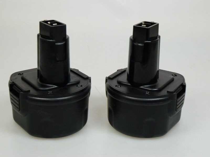 2 x Akku Werkzeugakku Ni-Cd 9,6V 2000mAh für Dewalt DE9062 DW9062 EZWA37 DW9061