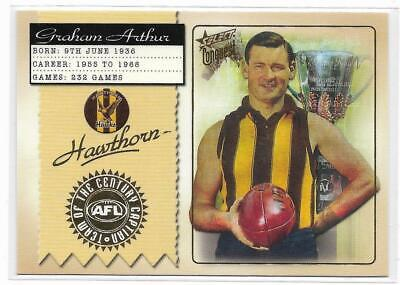 2011 Select Hawthorn Heritage Premiership Captain Signature GRAHAM ARTHUR