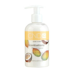 Cnd Creative Nail Design Mango Coconut Hand Body Lotion 83oz