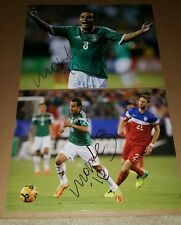 """foto Autografiada por Luis """"Chaco"""" Montes del equipo Leon"""